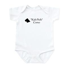 Kah Ney Corso Infant Bodysuit