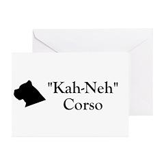 Kah Ney Corso Greeting Cards (Pk of 20)