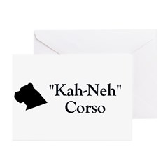 Kah Ney Corso Greeting Cards (Pk of 10)