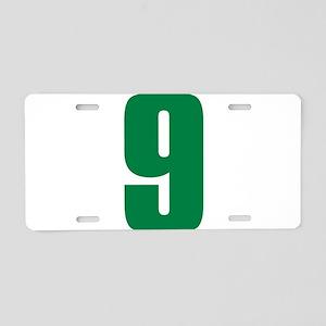 Brasil V9 Aluminum License Plate