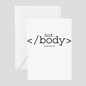 hot body ~ Greeting Cards (Pk of 20)