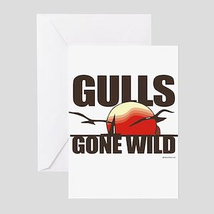Gulls gone wild ~ Greeting Cards (Pk of 20)