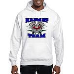 HAZMAT TEAM Hooded Sweatshirt