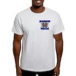 HAZMAT TEAM Ash Grey T-Shirt (See Back!)