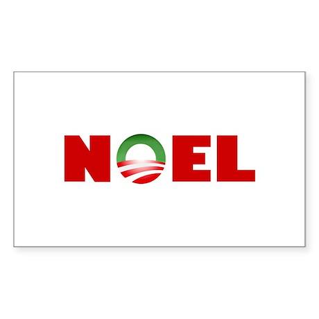 NOEL Rectangle Sticker