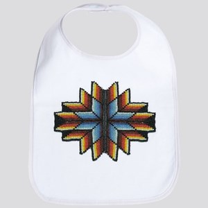 Beaded Tribal Starburst Bib