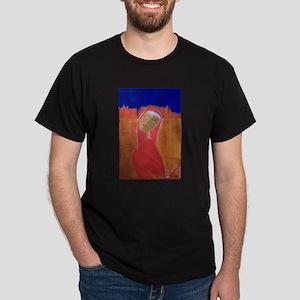 Madonna Roja Dark T-Shirt