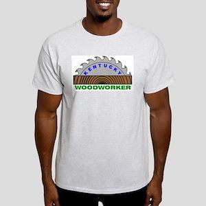 Ky Woodworker Ash Grey T-Shirt