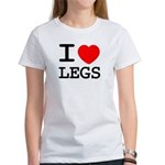 I heart legs Women's T-Shirt
