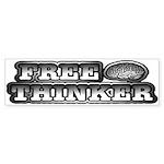 Freethinker Bumper Sticker