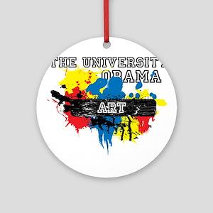 The University of Obama Art D Ornament (Round)