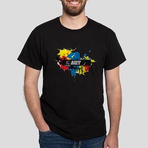 The University of Obama Art D Dark T-Shirt