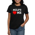 Milfs heart me Women's Dark T-Shirt