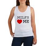 Milfs heart me Women's Tank Top