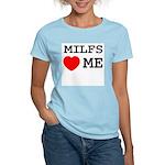 Milfs heart me Women's Light T-Shirt