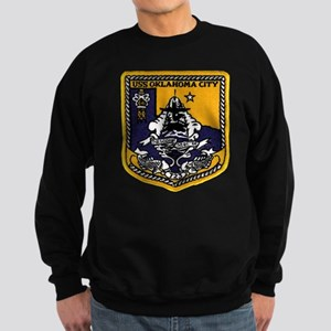 SSN 723 USS Oklahoma City Sweatshirt (dark)