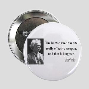 """Mark Twain 44 2.25"""" Button"""