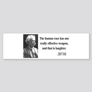 Mark Twain 44 Bumper Sticker
