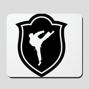 Karate Karateka Fight Fighter Martial Ar Mousepad