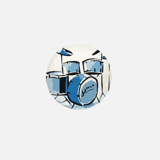 Drum Set Drums Mini Button