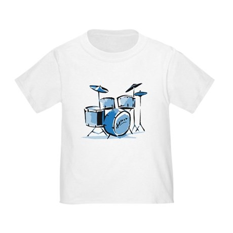 CafePress Drum Set Drums Toddler T Shirt Toddler T-Shirt 335570352