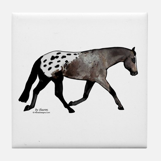 Blanketed Appy Tile Coaster