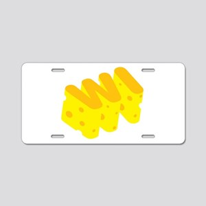 WI Wisconsin Cheese State Aluminum License Plate