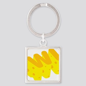 WI Wisconsin Cheese State Keychains