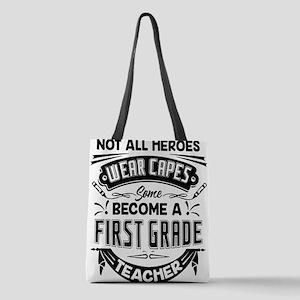 1st Grade Teacher Polyester Tote Bag