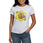 Peace Blossoms / orange Women's T-Shirt