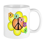 Peace Blossoms / orange Mug