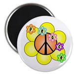 Peace Blossoms / orange Magnet