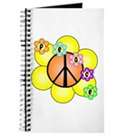 Peace Blossoms / orange Journal