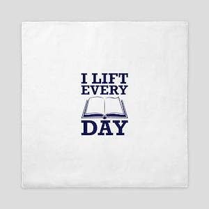 Lift Every Day Queen Duvet