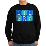 Lil Bro (Blue/Green) Sweatshirt (dark)