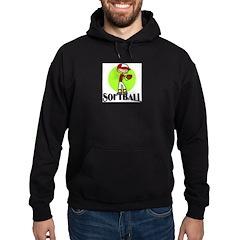 Softball Hoodie (dark)