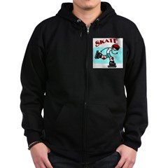 Skater Boy Zip Hoodie (dark)