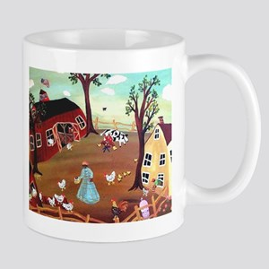 BARNYARD MORNING Mug