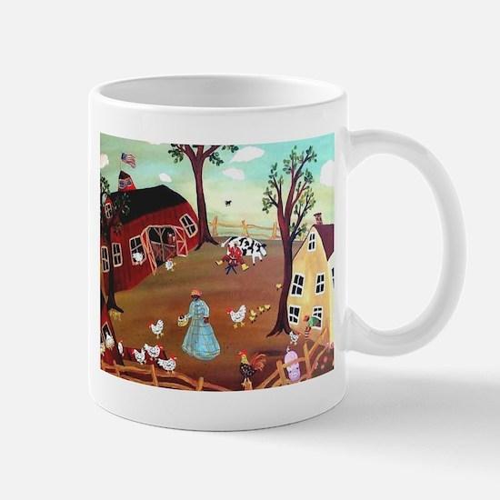 BARNYARD MORNING Mug