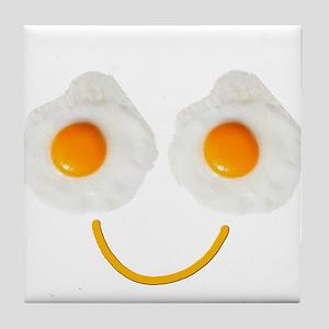 Mr. Egg Face Tile Coaster