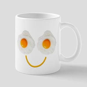 Mr. Egg Face Mugs