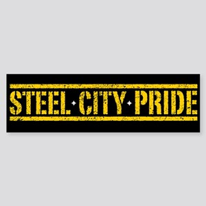 STEEL CITY PRIDE Bumper Sticker
