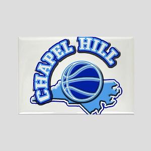 Chapel Hill Basketball Rectangle Magnet
