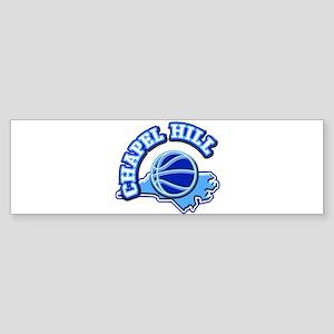 Chapel Hill Basketball Bumper Sticker