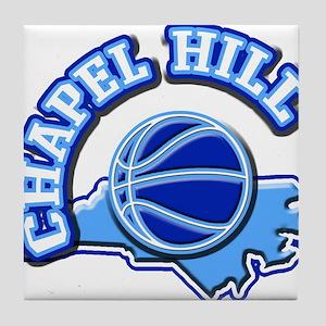 Chapel Hill Basketball Tile Coaster