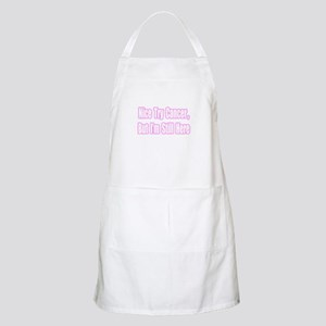 """Nice Try Cancer...(Pink)"" BBQ Apron"
