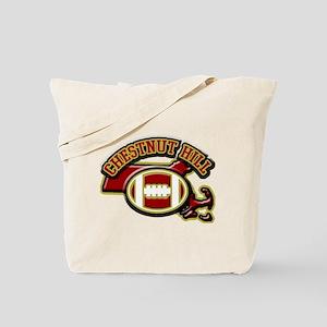 Chestnut Hill Football Tote Bag
