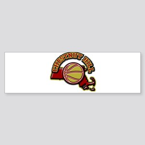 Chestnut Hill Basketball Bumper Sticker