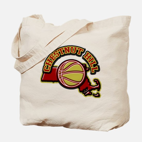 Chestnut Hill Basketball Tote Bag