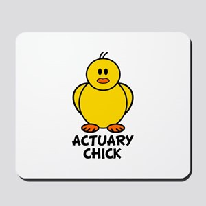 Actuary Chick Mousepad